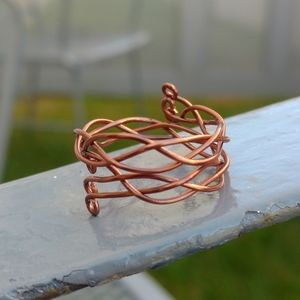 Braided Copper Ring